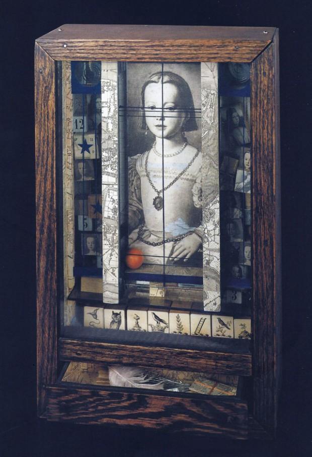 1 Joseph Cornell, Untitled (Medici Princess), c. 1948