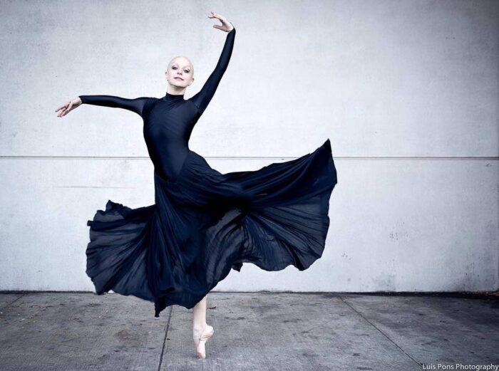 the bald ballerina