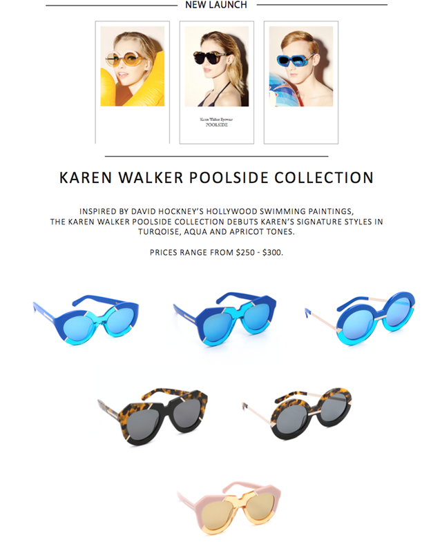 Karen Walker Hockney poolside sunglasses