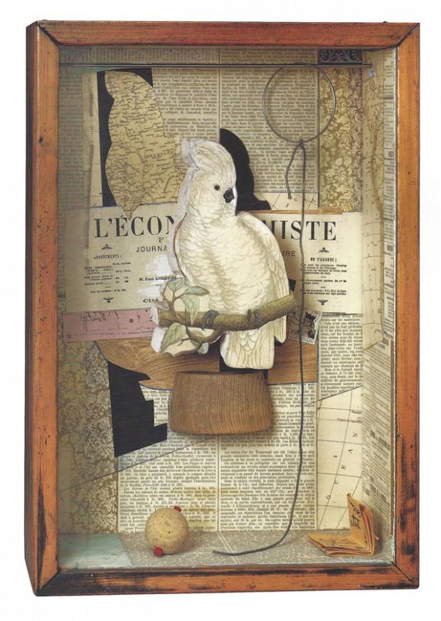 2 Joseph Cornell, A Parrot for Juan Gris, Winter 1953-54_ .