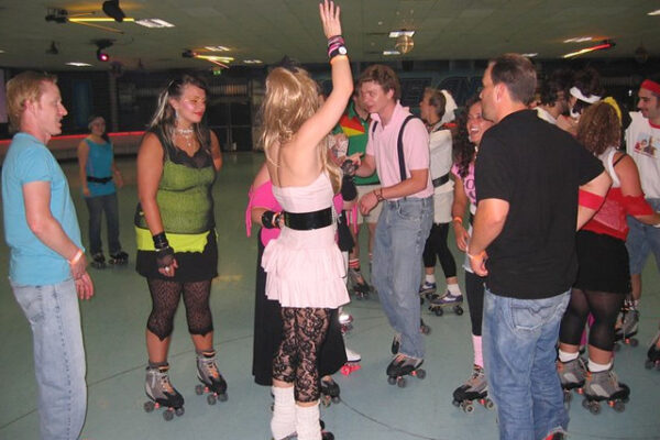 80s roller skating party