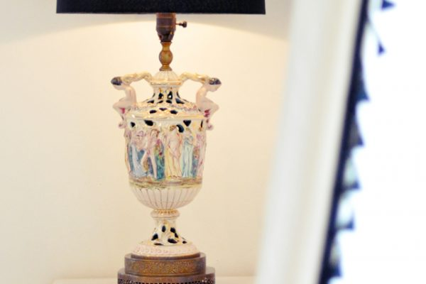 antique Italian lamps