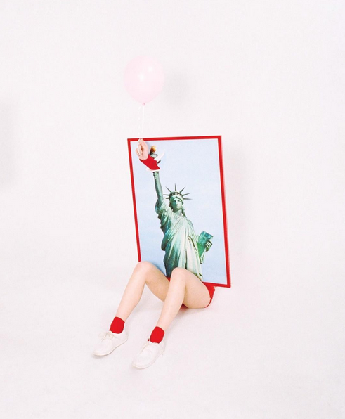 NYC- Statue of Liberty - New York - art - legs - photography - Jimmy Marble