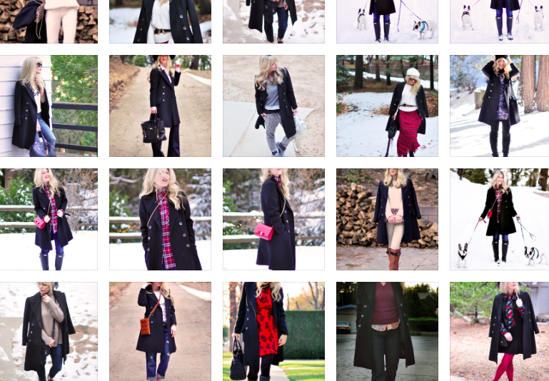 how to wear a vintage military coat for fall and winter