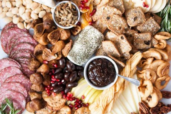 How-to-Build-a-Fall-Cheese-Board-Trader-Joes-Style_-Holiday charcuterie board