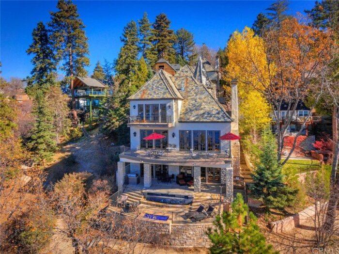 Lake Arrowhead houses for sale on the lake