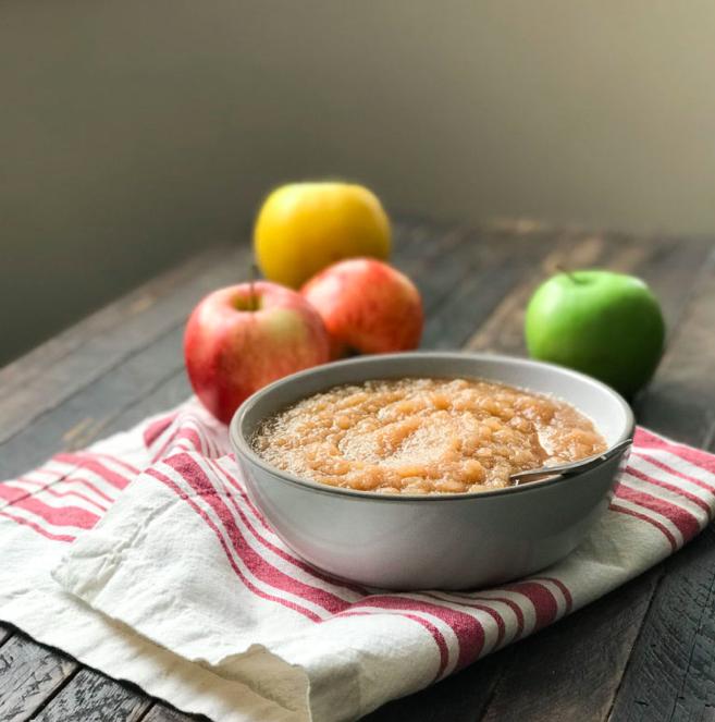 Instant Pot Recipe: Homemade applesauce