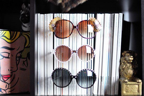 DIY Embellished Sunglasses Tutorial