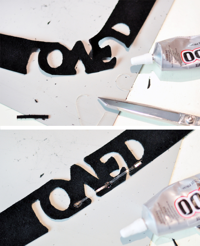DIY Leather & Crystal LOVED Choker - - Gucci