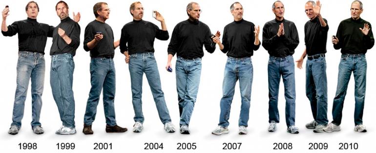 90s dad shoe - Steve Jobs signature style