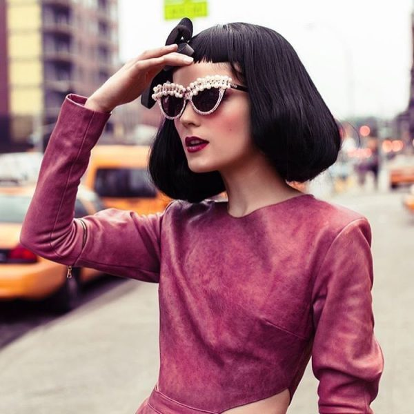 embellished sunglasses with flowers a-morir eyewear 3