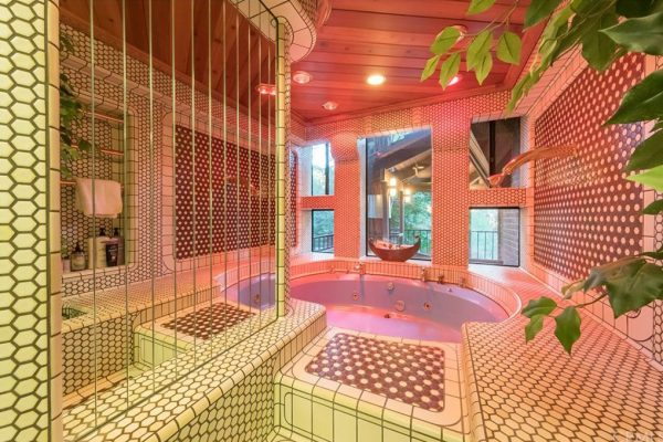 lake arrowhead house -crazy bathroom 2