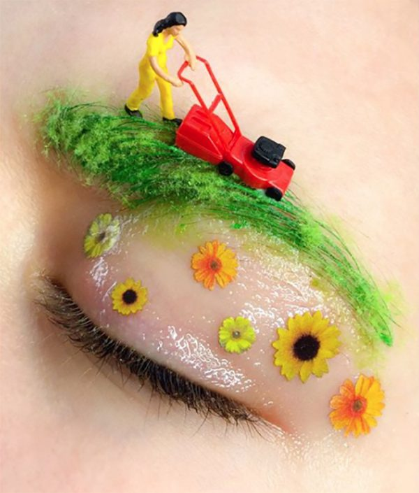 Makeup is art - Artist Martha Butterworth -