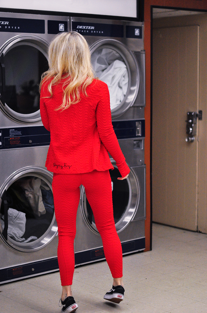 reigning fury activewear -yoga, workout gear - laundromat