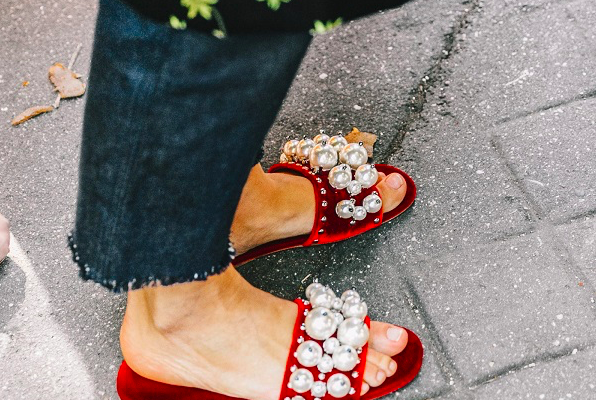 fancy embellished slides