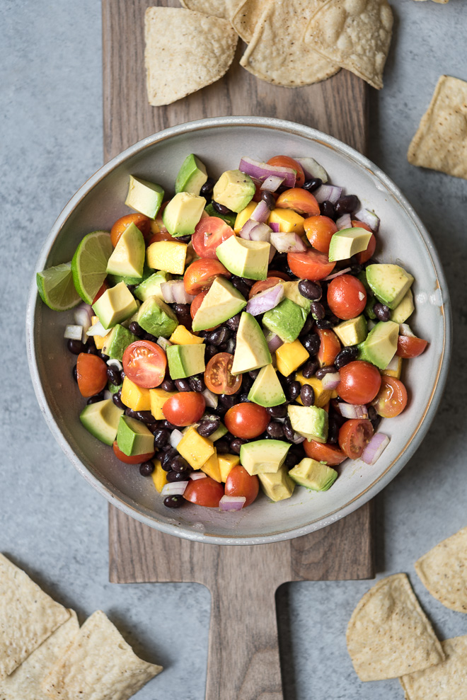 Guacamole Summer Salad Recipe