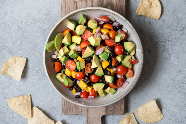summer salad recipes // guacamole salad