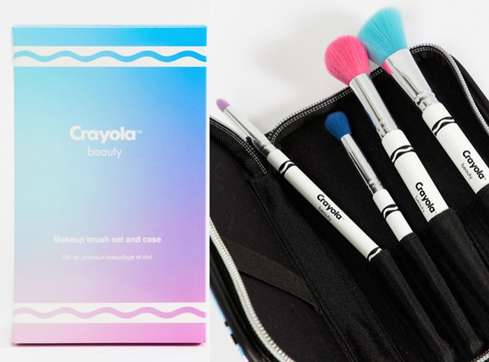 Crayola beauty collection with Asos - brush set