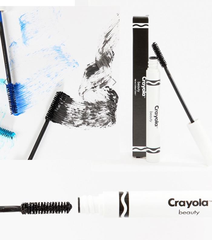 Crayola beauty collection with Asos - mascara
