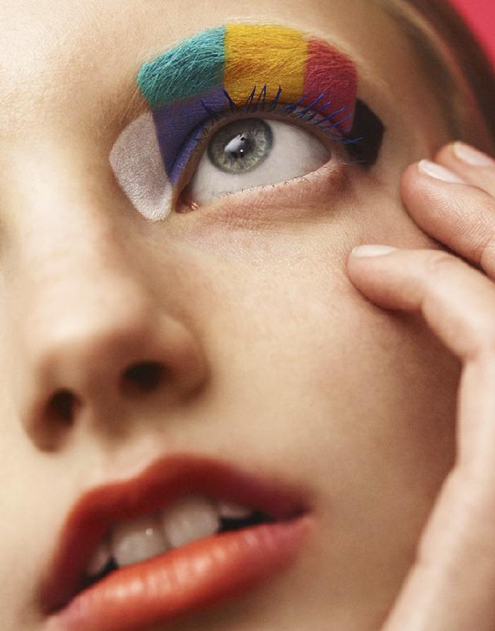 Crayola beauty collection with Asos - eyeshadow rainbow