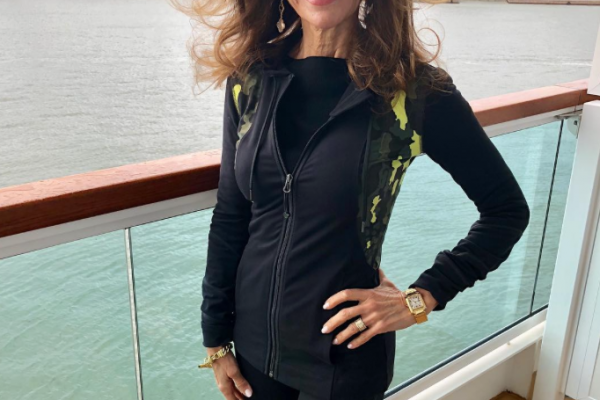 Susan Lucci's fitness routine - 71 years old
