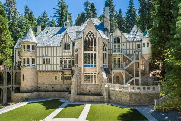 castle in the forest - lake arrowhead estates