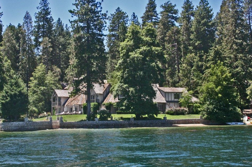 Lake Arrowhead waterfront home