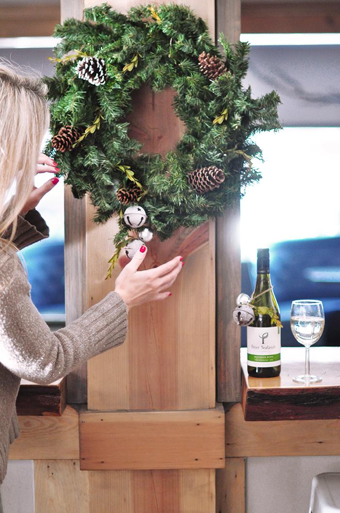 DIY Rustic Holiday Wreath