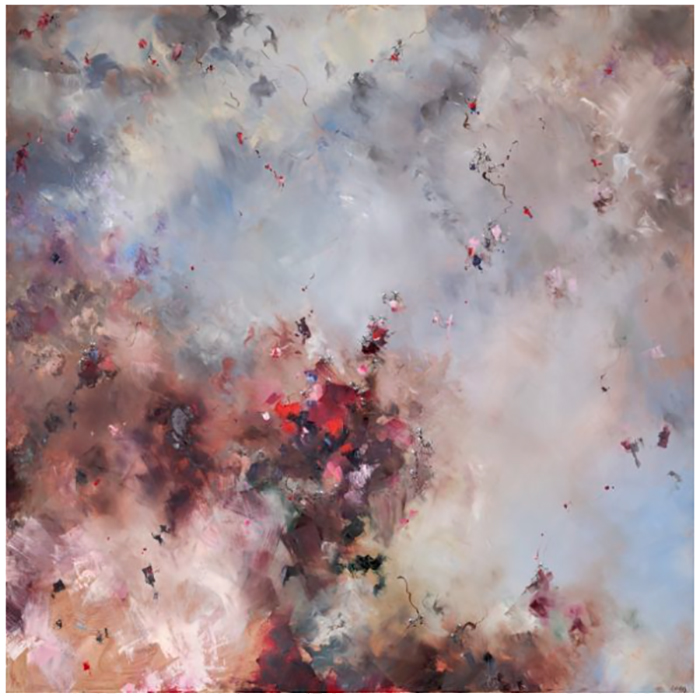 art, artists, artist spotlight, large scale paintings, dreamy art, chris rivers artist, abstract art