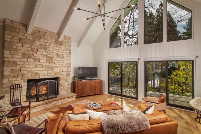 Modern mountain home in Lake Arrowhead