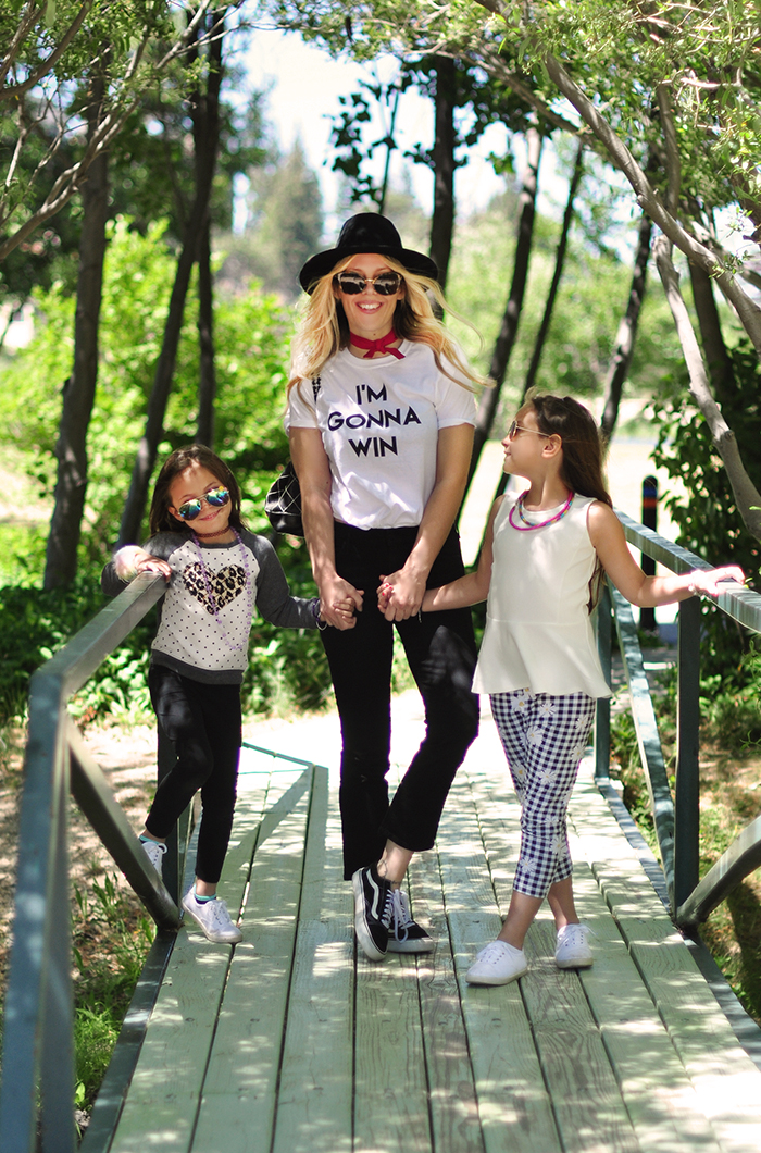 Style with kids at the park in Lake Arrowhead