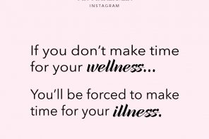 #MondayMotivation // Make Time for Wellness & Self-Care