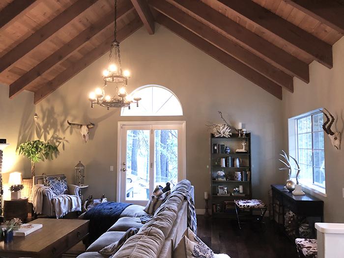 Home Decor // Mountain House Rustic Living Room | …love Maegan
