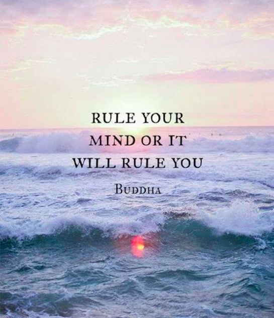 rule your mind or it will rule you - buddha