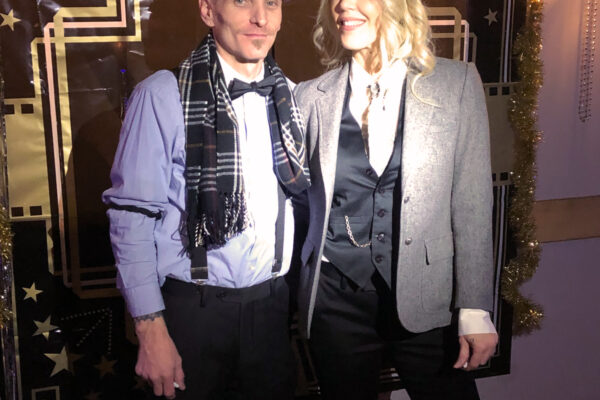 NYE roaring 20s party - Peaky Blinders costume style