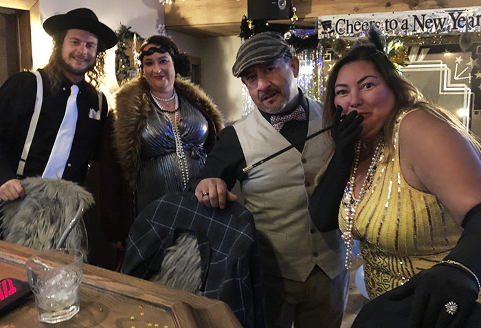 Roaring 20s - 1920s Peaky Blinder style NYE Party at Dogwood Tavern in Lake Arrowhead