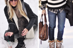 Short Winter Boots // A Round-up of Stylish Low-Profile Snow Boots