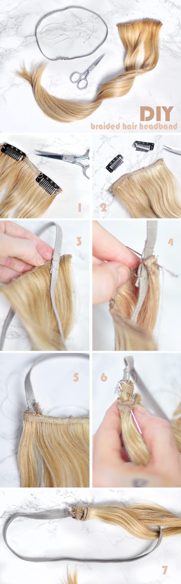 DIY Braided Hair Headband Tutorial