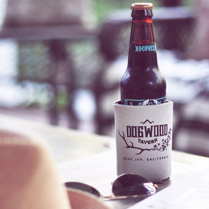 dogwood tavern beer koozie
