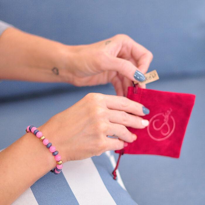Saskia DIY jewelry beading kit - diy beaded bracelet
