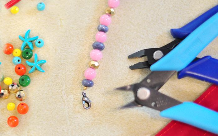 how to jewelry beading DIY kit