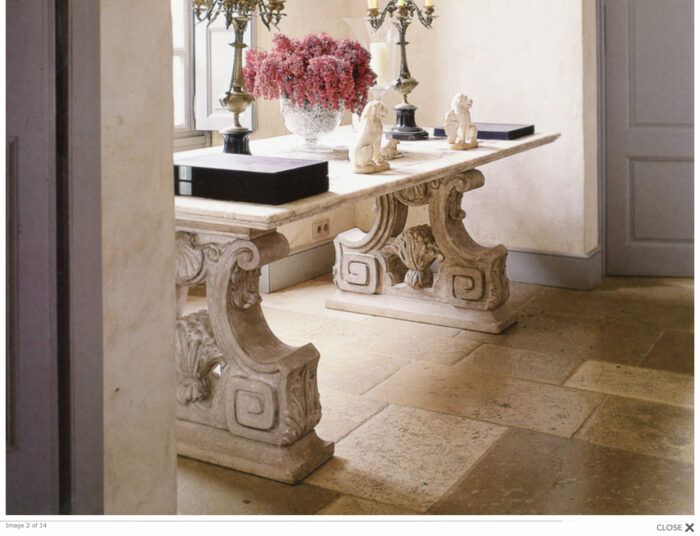 stone granite marble table