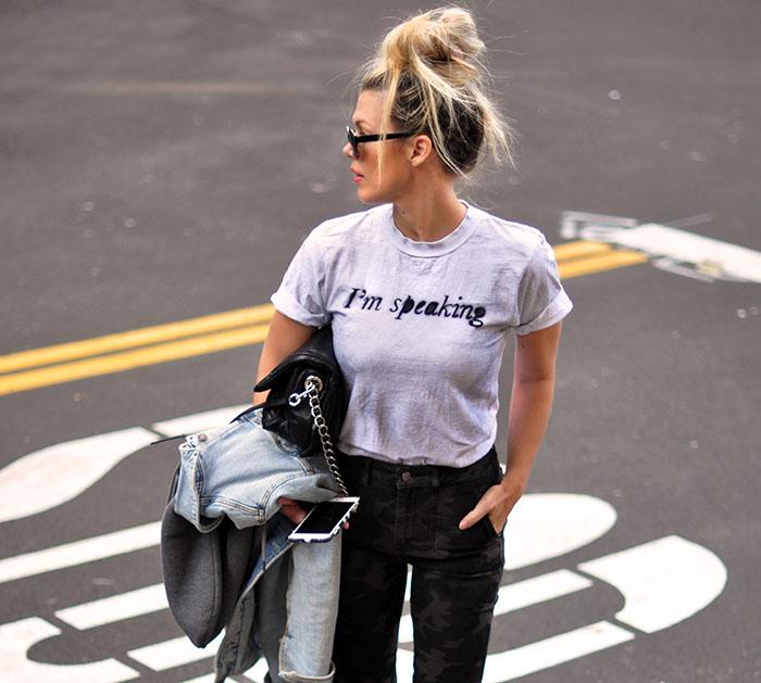 I'm Speaking DIY T-shirt Kamala 2020