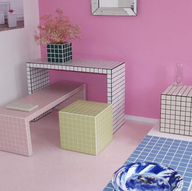 tiled coffee tables, diy tiled tables inspiration