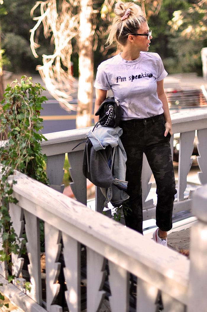 I'm speaking t-shirt DIY - love Maegan