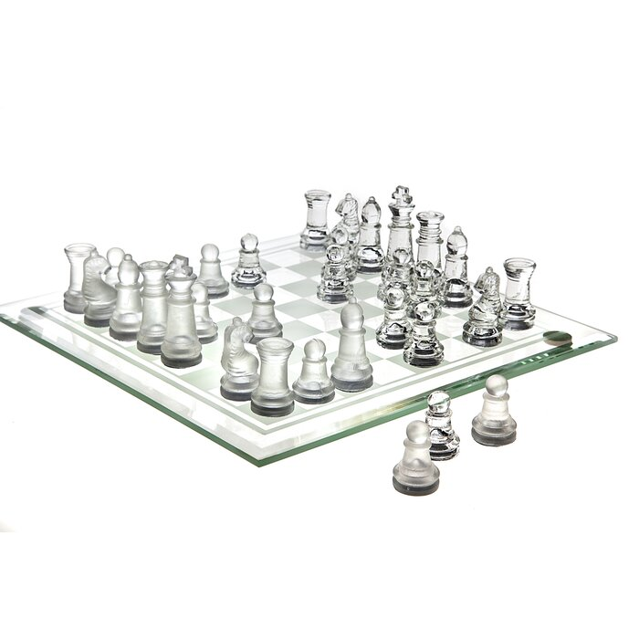 Clear+Chess+Board+Game