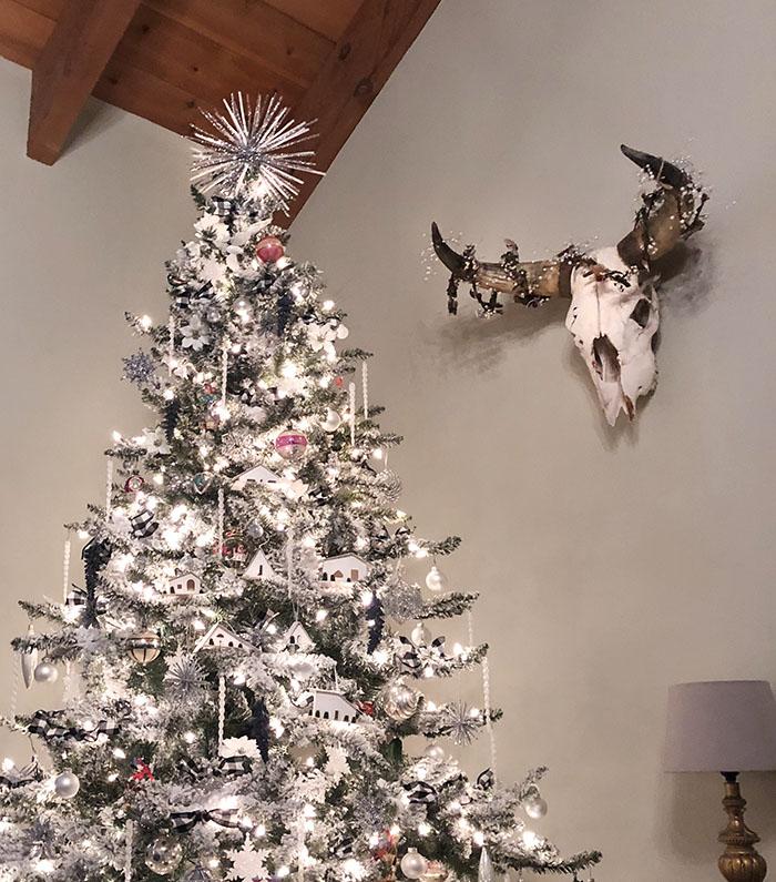 little tiny houses+diy christmas ornaments