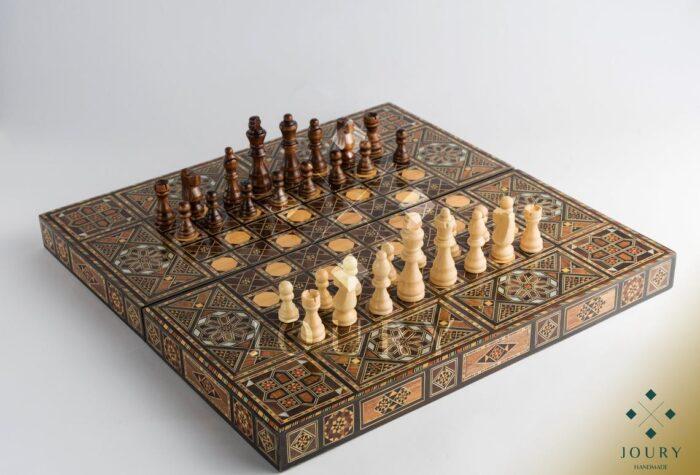 Mosaic chess set