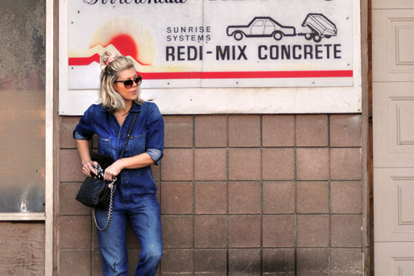 lee denim coveralls unionalls with checkered vans-lake arrowhead -love maegan