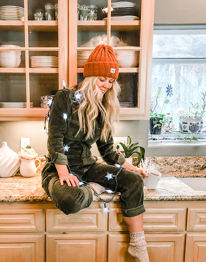 cozy christmas style, lee union coveralls unionalls